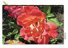 Carry-all Pouch featuring the photograph Gorgeous Roses by Stephanie Moore