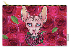 Gorgeous Sphynx Carry-all Pouch