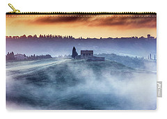 Gorgeous Tuscany Landcape At Sunrise Carry-all Pouch