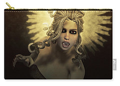 Gorgon Medusa Carry-all Pouch by Joaquin Abella