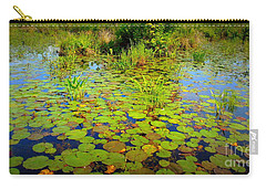 Gorham Pond Lily Pads Carry-all Pouch