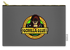 Gorilla Glue T-shirt Carry-all Pouch by Herb Strobino