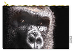 Gorilla ... Kouillou Carry-all Pouch by Stephie Butler