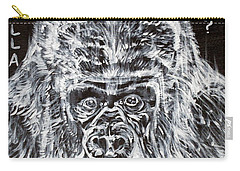 Carry-all Pouch featuring the painting Gorilla Who? by Fabrizio Cassetta