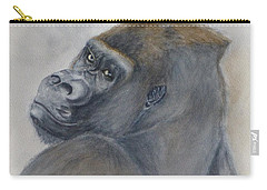 Gorilla's Celebrity Pose Carry-all Pouch