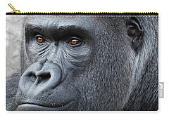 Gorillas In The Mist Carry-all Pouch
