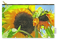 Gospel Flat Sunflowers Carry-all Pouch