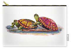 Spring Turtles Carry-all Pouch
