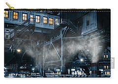 Gotham City Carry-all Pouch by Mihai Andritoiu