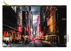 Carry-all Pouch featuring the photograph Gotham  by Nicklas Gustafsson