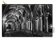 Carry-all Pouch featuring the photograph Gothic Arches by Debra Fedchin