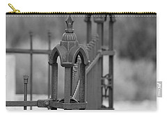Gothic Ornamental Fence In Boothill Carry-all Pouch