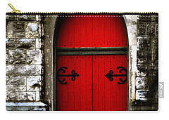 Gothic Red Door Memphis Church Carry-all Pouch