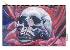 Carry-all Pouch featuring the painting Gothic Romance by Isabella F Abbie Shores FRSA