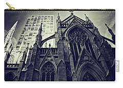 Carry-all Pouch featuring the photograph Gothic Perspectives by Jessica Jenney