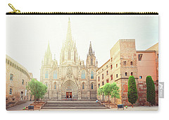 Gotic Cathedral  Of Barcelona Carry-all Pouch