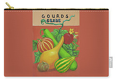 Gourd Orange Carry-all Pouch