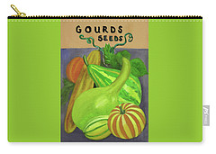 Gourd Purple Carry-all Pouch