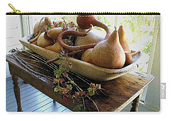 Gourds In Bowl Carry-all Pouch