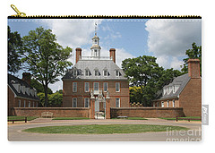 Governers Palace - Williamsburg Va Carry-all Pouch by Christiane Schulze Art And Photography