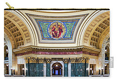 Government Mural - Capitol - Madison - Wisconsin Carry-all Pouch