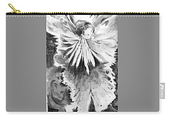 Grace In An Orchid Carry-all Pouch by Mindy Newman