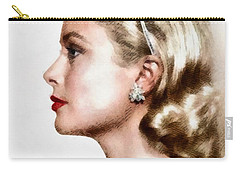 Grace Kelly, Actress And Princess Carry-all Pouch