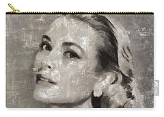 Grace Kelly By Mary Bassett Carry-all Pouch