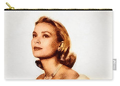 Grace Kelly, Vintage Actress By John Springfield Carry-all Pouch