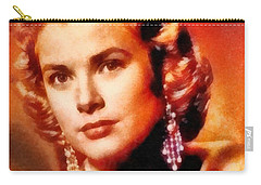 Grace Kelly, Vintage Hollywood Actress Carry-all Pouch