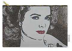 Grace Carry-all Pouch by Lynet McDonald