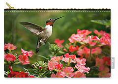 Graceful Garden Jewel Carry-all Pouch