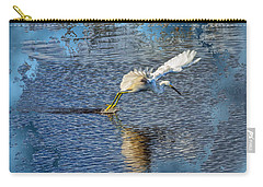 Carry-all Pouch featuring the photograph Graceful Hunter 2 by John M Bailey