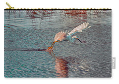 Carry-all Pouch featuring the photograph Graceful Hunter by John M Bailey