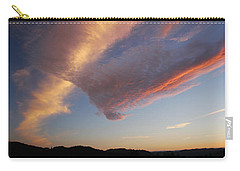 Graceful Pink Clouds Carry-all Pouch by Katie Wing Vigil