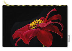 Graceful Red Carry-all Pouch by Roman Kurywczak