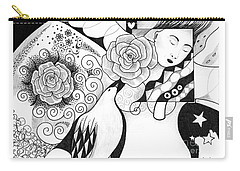 Gracefully Carry-all Pouch by Helena Tiainen