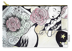 Gracefully - In Color Carry-all Pouch by Helena Tiainen