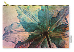 Carry-all Pouch featuring the digital art Gracefulness by Klara Acel