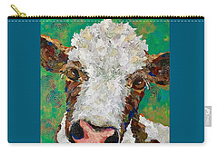 Gracies Cow Carry-all Pouch