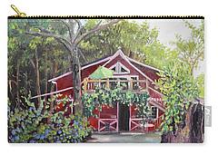 Gracie's Place At Ellijay River Vineyard - Ellijay, Ga Carry-all Pouch by Jan Dappen