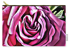 Gracious Rose Carry-all Pouch