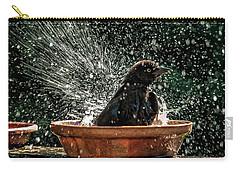 Grack Bath Flower Pot Carry-all Pouch by Jim Moore