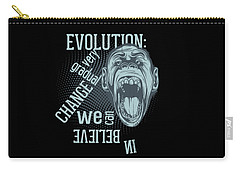 Carry-all Pouch featuring the digital art Gradual Change  by Christopher Meade