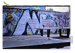 Graffiti Table Carry-all Pouch