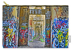 Grafiti Bridge To Nowhere Carry-all Pouch by Alice Gipson