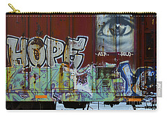Grafitti Art Riding The Rails 6 Carry-all Pouch