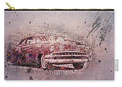 Carry-all Pouch featuring the photograph Graffiti Merc by Joel Witmeyer