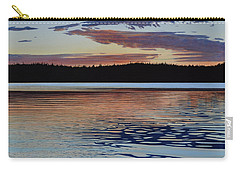 Carry-all Pouch featuring the painting Graham Lake by Kenneth M Kirsch