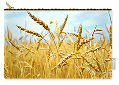 Grain Field Carry-all Pouch by Elena Elisseeva